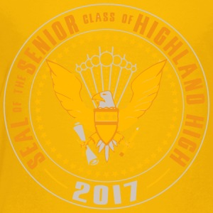 SEAL OF THE SENIOR CLASS OF HIGHLAND HIGH 2017 - Toddler Premium T-Shirt