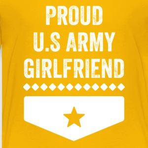 Proud us army girlfriend - Toddler Premium T-Shirt
