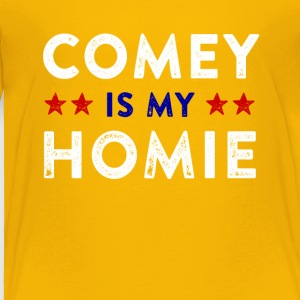 Comey is my Homie tees - Toddler Premium T-Shirt