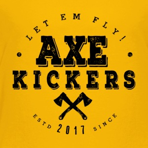 AXE KICKERS LOGO - Toddler Premium T-Shirt