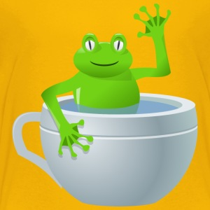 rg1024 unexpected frog in my tea 2400px - Toddler Premium T-Shirt