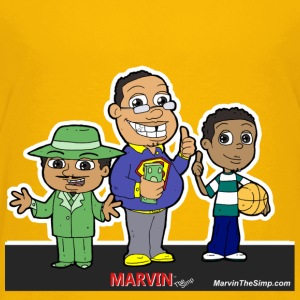 Marvin The Simp Combination - Toddler Premium T-Shirt