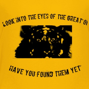 Tiger eyes - Toddler Premium T-Shirt