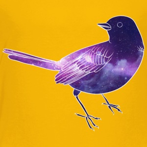 Galaxy in bird - Toddler Premium T-Shirt