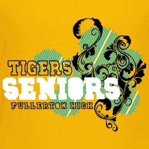 TIGERS SENIORS FULLERTON HIGH - Toddler Premium T-Shirt