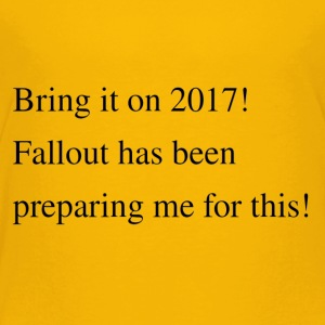 Waiting for the fallout? - Toddler Premium T-Shirt