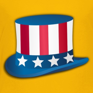 Uncle Sam USA Top-Hat Bars and Stripes - Toddler Premium T-Shirt