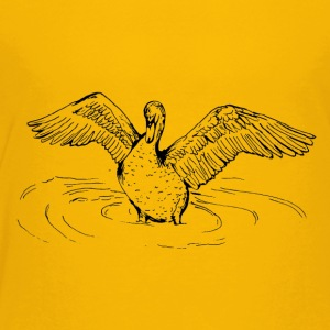 Swan Song- By Stasha Eriksen - Toddler Premium T-Shirt