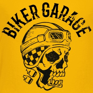 Biker garage skull tatoo - Toddler Premium T-Shirt
