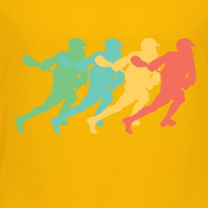 Retro Lacrosse Pop Art - Toddler Premium T-Shirt