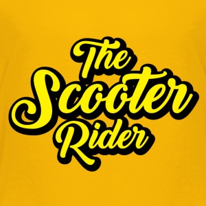 Scooter-Rider - Toddler Premium T-Shirt