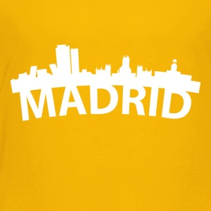 Arc Skyline Of Madrid Spain - Toddler Premium T-Shirt