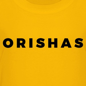 Orishas (Medium Black Letters) - Toddler Premium T-Shirt