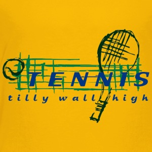 TENNIS tilly wall high - Toddler Premium T-Shirt
