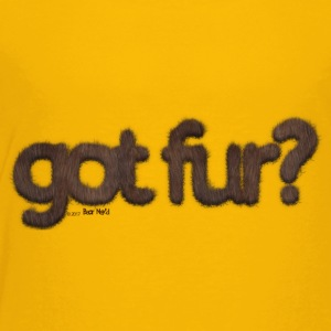 got fur?-Furry Fun-Gay Bear Pride-Brown Bear - Toddler Premium T-Shirt