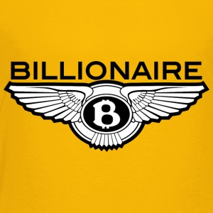 Billionaire - B Design (Black) - Toddler Premium T-Shirt