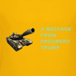 Tank Trump - Toddler Premium T-Shirt