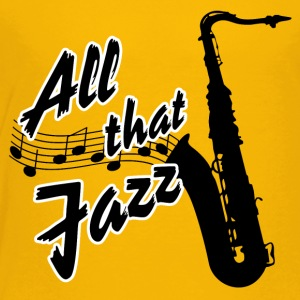 All that Jazz with Saxophone - Toddler Premium T-Shirt