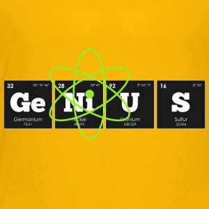Periodic Elements: GeNiUS - Toddler Premium T-Shirt