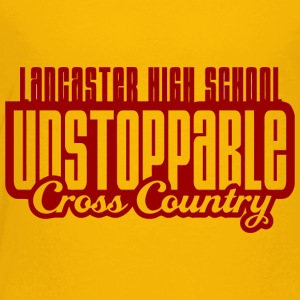 LANCASTER HIGH SCHOOL UNSTOPPABLE Cross Country - Toddler Premium T-Shirt