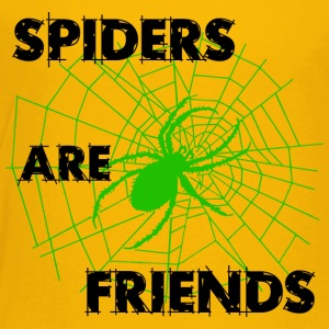 spiders are friends - Toddler Premium T-Shirt