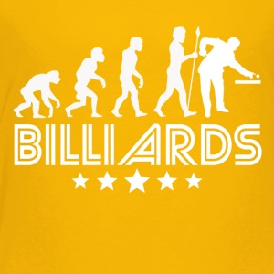 Retro Billiards Evolution - Toddler Premium T-Shirt