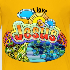 I Love Jesus - Toddler Premium T-Shirt