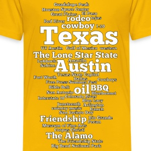 Texas (US state, The Lone Star State) - Toddler Premium T-Shirt