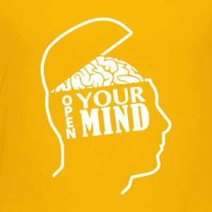 Open Your Mind - Toddler Premium T-Shirt