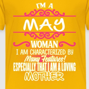 MAY Woman And Mother - Toddler Premium T-Shirt