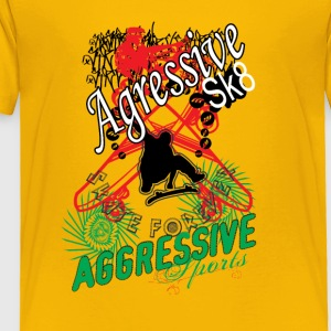Aggressive sport - Toddler Premium T-Shirt