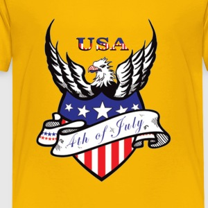 America Independence Day - Toddler Premium T-Shirt
