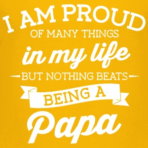 I am Proud of my Papa - Toddler Premium T-Shirt