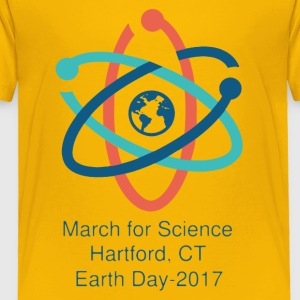 Hartford March For Science Shirt - Toddler Premium T-Shirt
