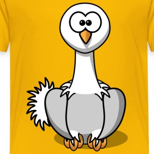 Funny Swan Animal - Toddler Premium T-Shirt