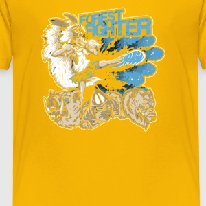 Forest Fighter - Toddler Premium T-Shirt