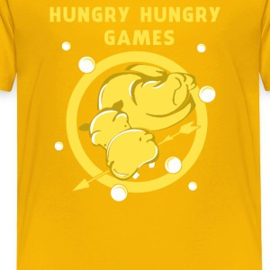 Hungry Hungry Games Funny Men's T-shirt - Toddler Premium T-Shirt