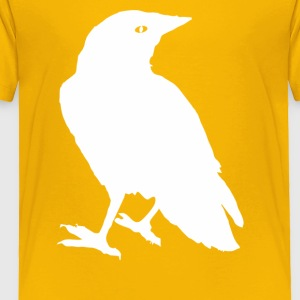 Raven winter scarf - Toddler Premium T-Shirt