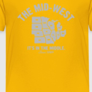 The Mid West - Toddler Premium T-Shirt