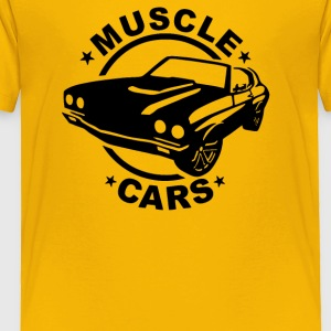 Muscle Car - Toddler Premium T-Shirt