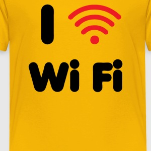 I Heart Wi Fi - Toddler Premium T-Shirt