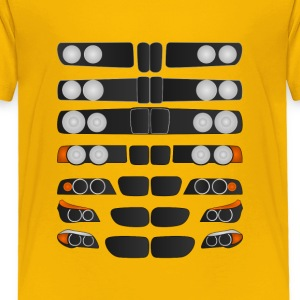 Evolution of BMW 5 series - Toddler Premium T-Shirt