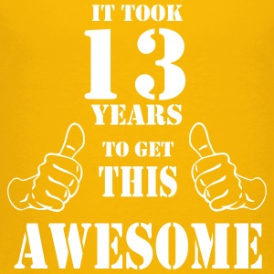 13th Birthday Get Awesome T Shirt Made in 2004 - Toddler Premium T-Shirt