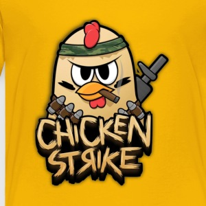 Chicken Strike - Toddler Premium T-Shirt