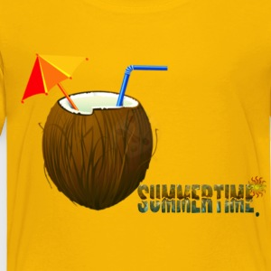 Summer - Toddler Premium T-Shirt