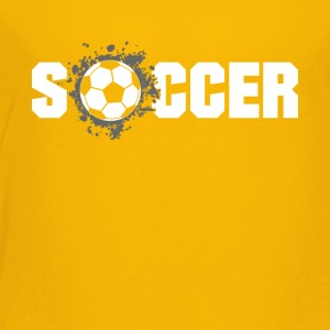 Soccer football Design Products - Toddler Premium T-Shirt