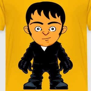 Little Gangster Crime Avatar Comic Style - Toddler Premium T-Shirt