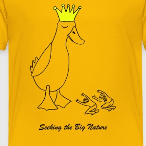 The Duck King Daniel - Toddler Premium T-Shirt
