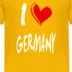 I love GERMANY - Toddler Premium T-Shirt