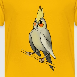 parakeet finch budgerigar budgie parot dove bird - Toddler Premium T-Shirt